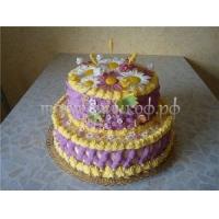 Торт на заказ -  Цветник