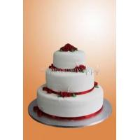 Торт свадебный на заказ - № 003