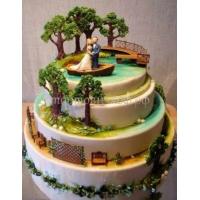 """Свадебный торт """"Свидание"""""""