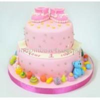 Детский торт на заказ - Розовая горка