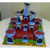 Детский торт на заказ - Замок
