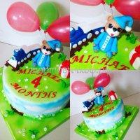 Детский торт #62
