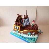 Торт на заказ детский - Пират на корабле