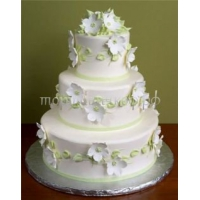 Торт свадебный на заказ - № 057