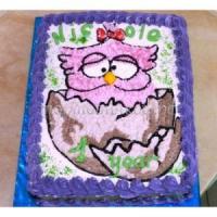 Детский торт ко дню рождения