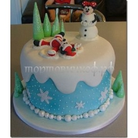 Торт Новый Год # 18