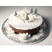 Торт Новый Год # 9