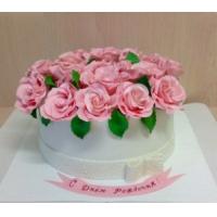 Торт на заказ, на день рождения - Розы