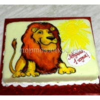 Детский торт на заказ - Лев