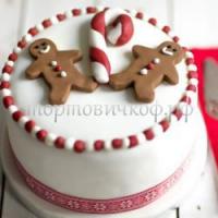 Торт Новый Год # 43
