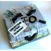 Детский торт #44