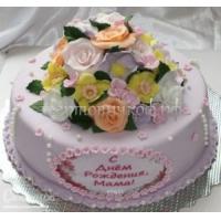 Торт для мамы - Букет