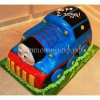 Детский торт на заказ - Паравозик