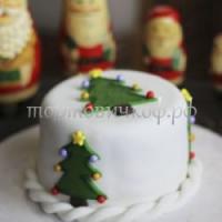 Торт Новый Год # 46