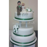 Торт свадебный на заказ - # 238