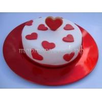 """Торт """"Сердечки"""""""