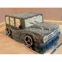 Детский торт на заказ - Машина 2
