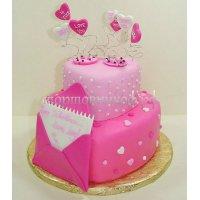 Свадебный торт #8