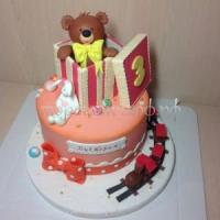 Торт на заказ детский - Миша Гриша