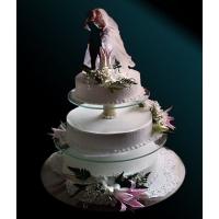 Торт свадебный на заказ - № 123
