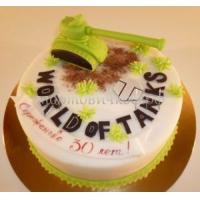 Заказать торт на день рождения - Игра танки