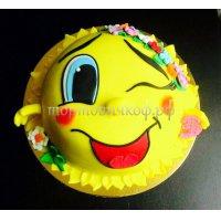 Детский торт #77
