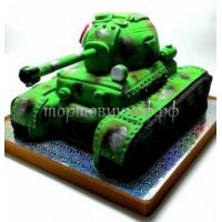 Торт на заказ детский - Танк