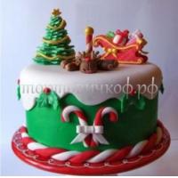 Торт Новый Год # 81