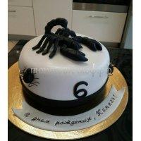 Прикольные торты на день рождения # 9
