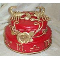 Прикольные торты на день рождения # 10