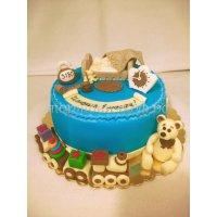 Детский торт #374