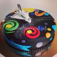 Детский торт на заказ - Космос