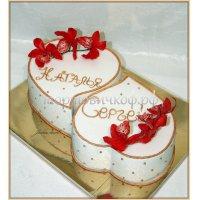 Свадебный торт #37