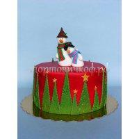 Торт на новый год #39