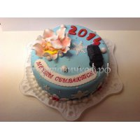 Торт на новый год #40