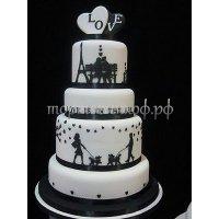 Свадебный торт #43
