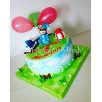 Детский торт #383