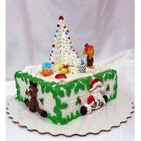 Торт на новый год #44