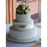 Свадебный торт #44