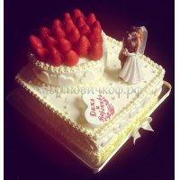 Свадебный торт #47