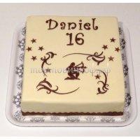 Прикольные торты на день рождения # 20