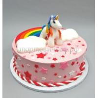 Детский торт на заказ - Волшебный Единорог