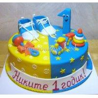 Детский торт #214