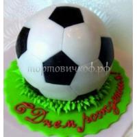 Торт на день рождения - Футбольный мяч