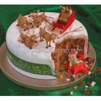 Торт на новый год #54