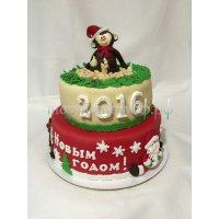 Торт на новый год #52