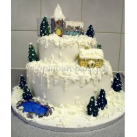Торт на новый год #59