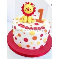 Торт на заказ на день рождения - Лева
