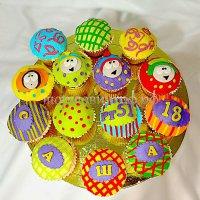 Капкейки и мини пирожные #36