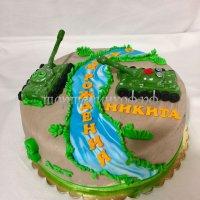 Детский торт #269